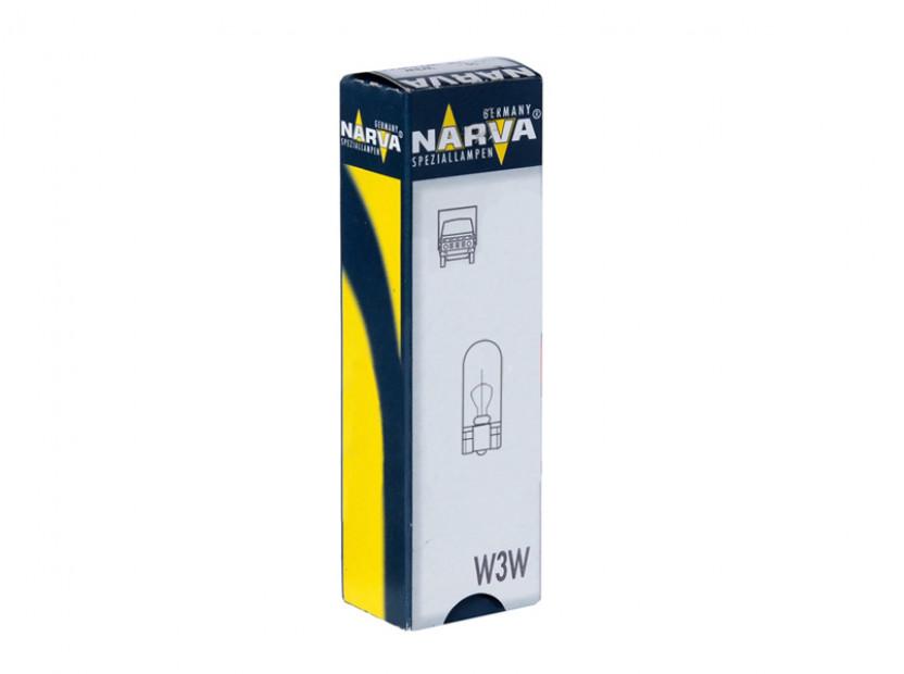 Крушка за табло Narva W3W 24V, W2.1X9.5D, 1 брой