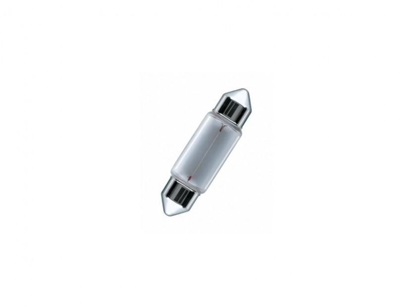 Халогенна крушка Osram C10W Original 24V, 10W, SV8.5-8, 1 брой