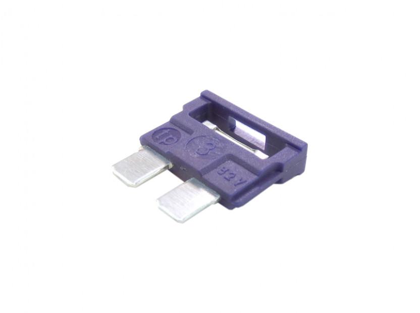 Предпазител стандартен 3А лилав 2