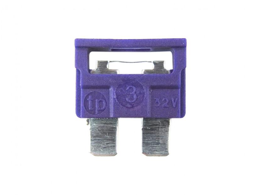 Предпазител стандартен 3А лилав