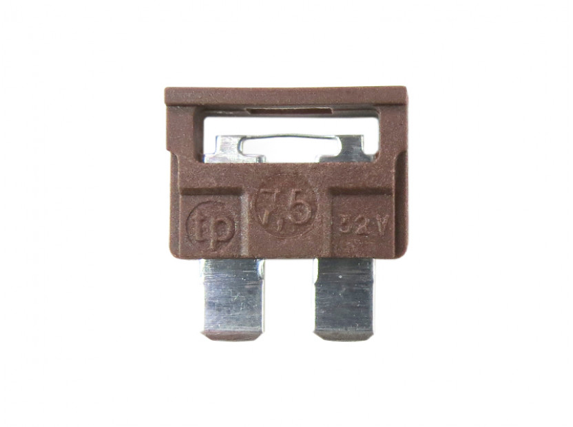 Предпазител стандартен 7.5А кафяв