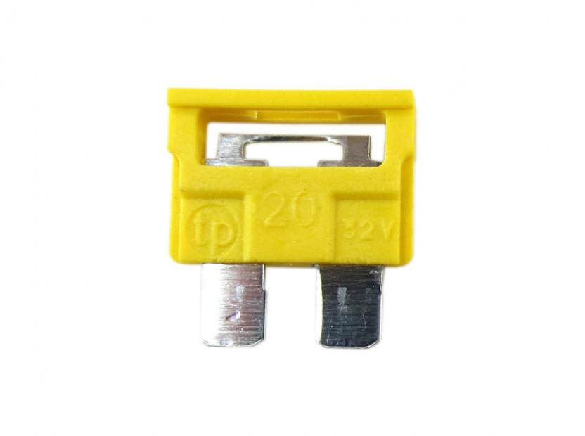 Предпазител стандартен 20А жълт
