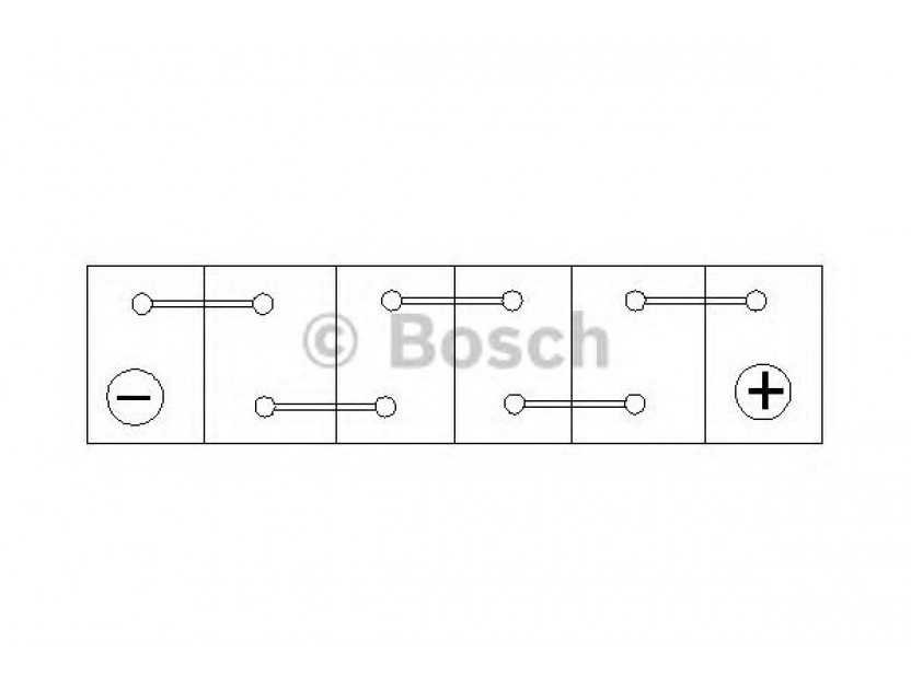 Акумулатор BOSCH Silver S4 12V 40Ah 330 A с тънки полюси с десен (+) АЗИЯ 4