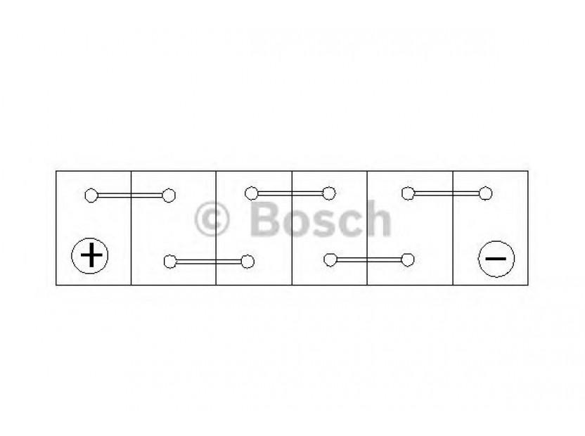 Акумулатор BOSCH Silver S4 12V 40Ah 330 A с тънки полюси с ляв (+) АЗИЯ 4