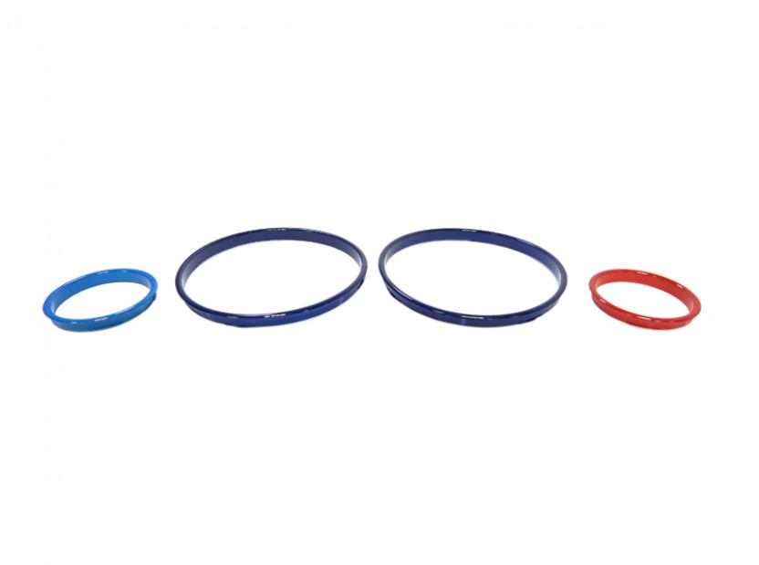 Рингове за табло autopro за BMW серия 5 E39 1995-2004/серия 7 E38 1994-2001/серия Х5 E53 2000-2007, цвят M Style 4
