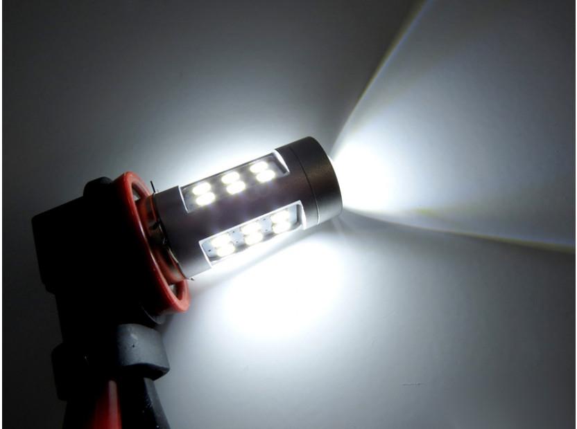 LED лампа AutoPro H11 студено бяла, 12V, 10W, PGJ19-2, 1 брой 3