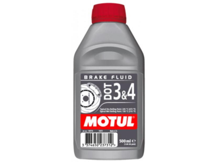 Спирачна течност MOTUL DOT 3 & 4 5L