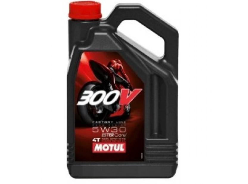 MOTUL 300V 5W30 4T FL 4L