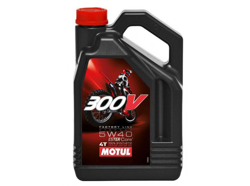 MOTUL 300V 5W40 4T FL 4L