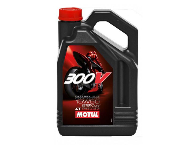 MOTUL 300V 15W50 4T FL 4L