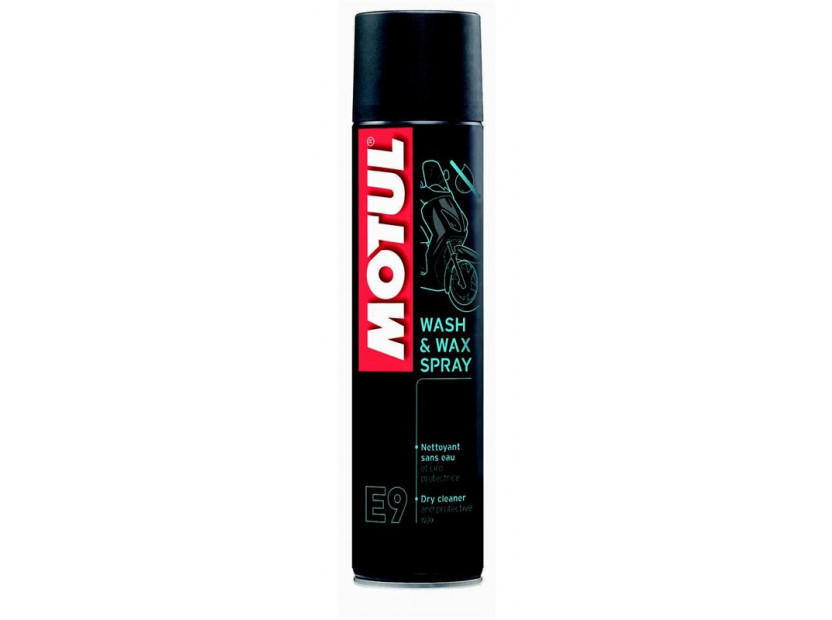 MOTUL E9 WASH & WAX СПРЕЙ 0.400L