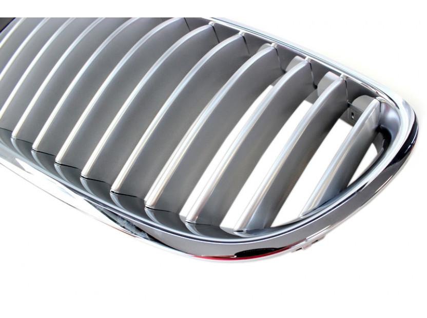 Бъбреци хром/сиви за BMW серия 5 F10 седан, F11 комби 2010-2017 3