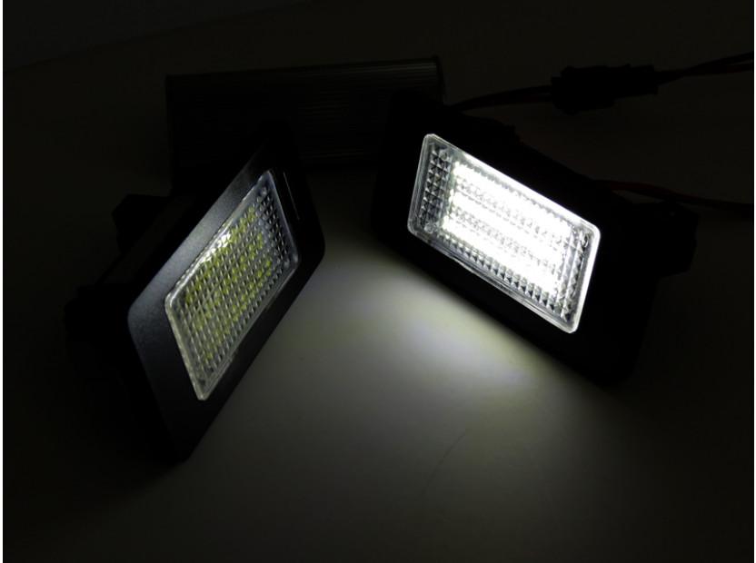 Комплект LED плафони за регистрационен номер за за Audi A1,A4,A5,S5,A6,S6,A7,Q5,TT,TT Roadster, ляв и десен 3