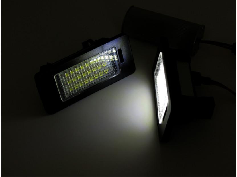 Комплект LED плафони за регистрационен номер за за Audi A1,A4,A5,S5,A6,S6,A7,Q5,TT,TT Roadster, ляв и десен 4