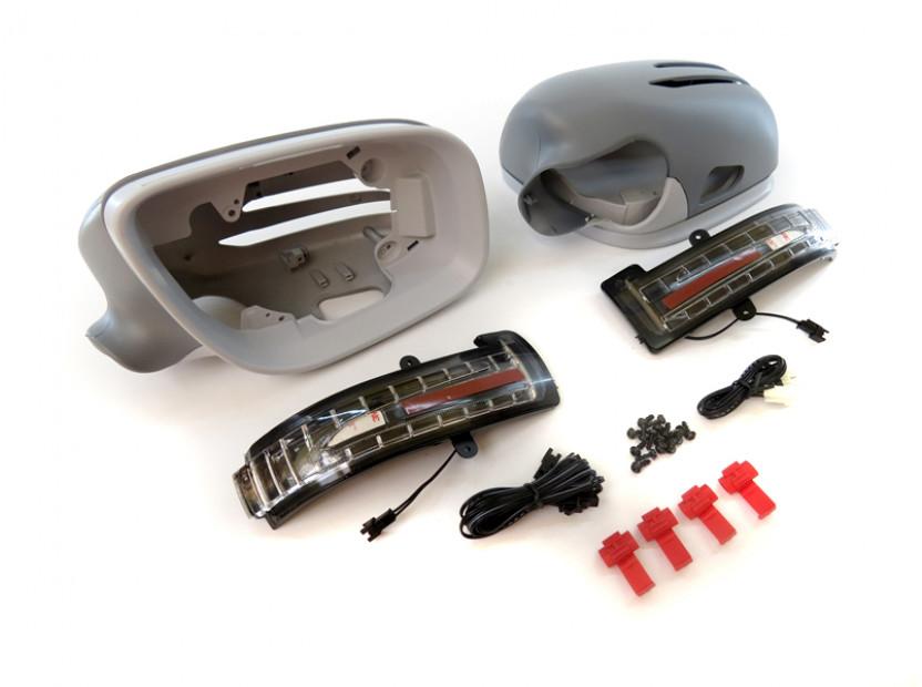 Капаци с LED мигачи за странични огледала за Mercedes E класа W211 2006-2009 14
