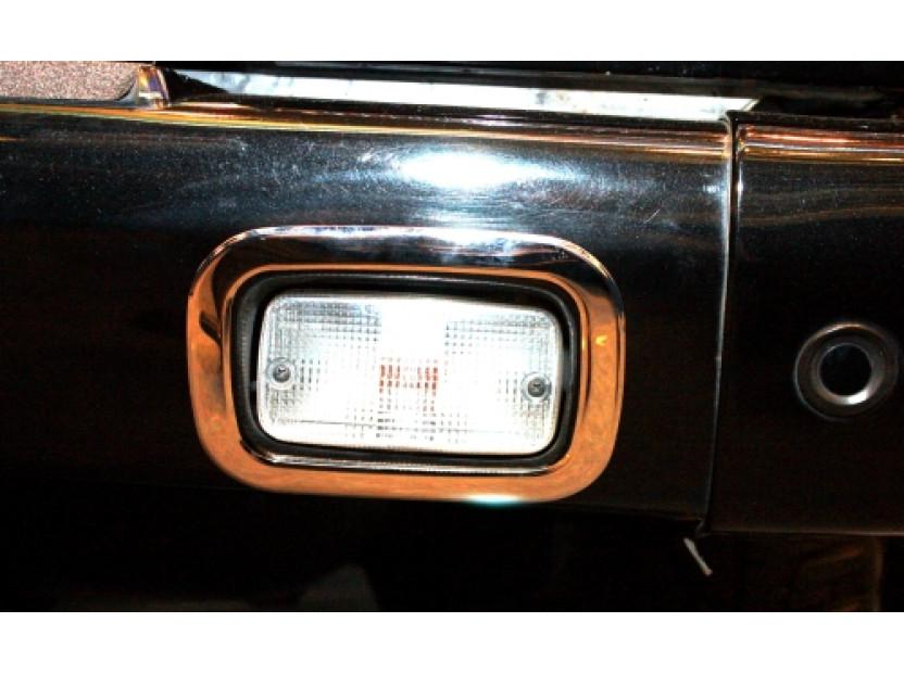 Хром лайсни около стопове за мъгла/задна скорост за Mercedes G W463 2