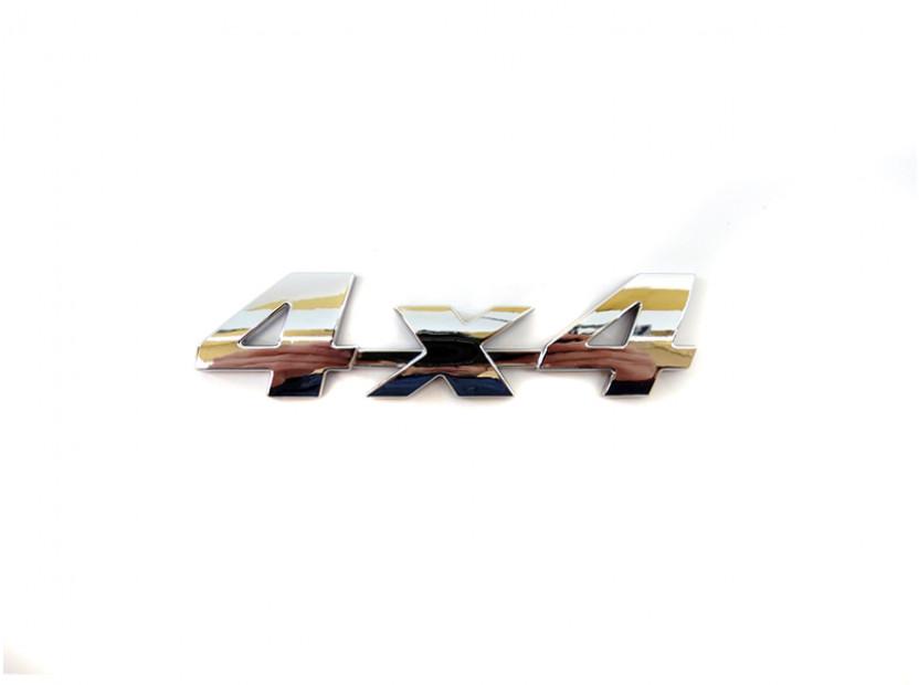 Емблема 4X4 10.9 см Х 2.8 см