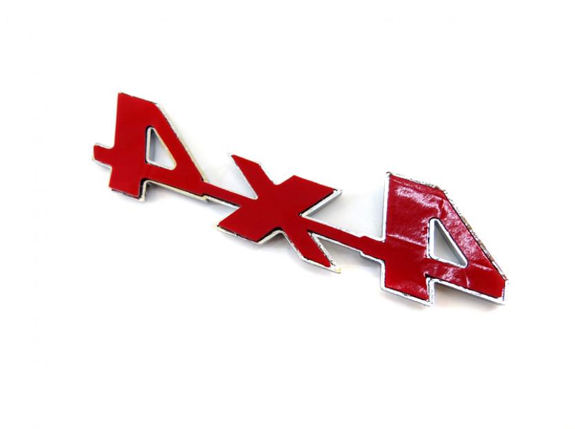 Емблема 4X4 10.9 см Х 2.8 см 4