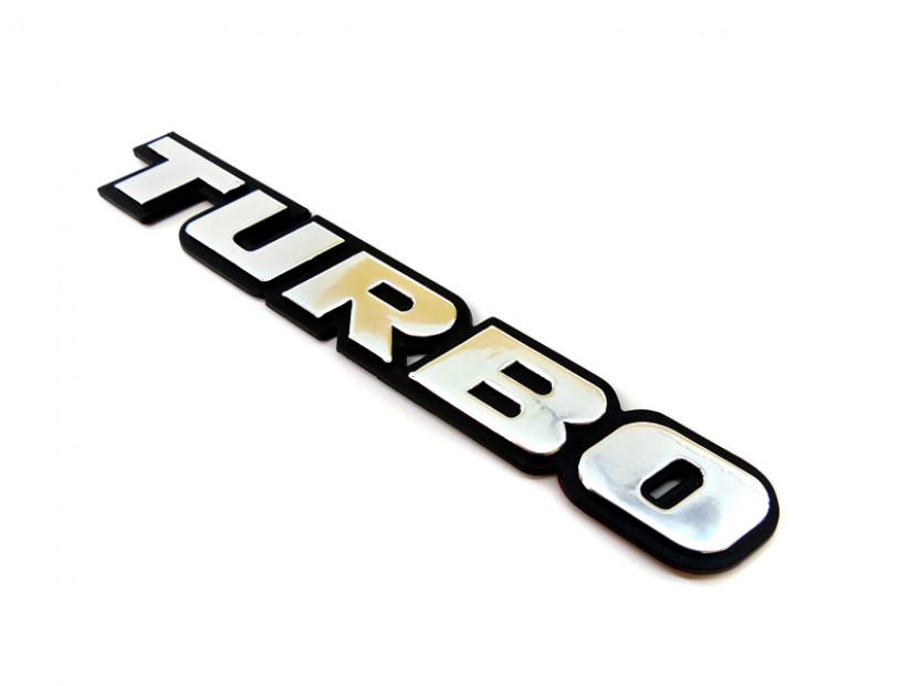 Емблема TURBO 18.7 см Х 2.8 см 3
