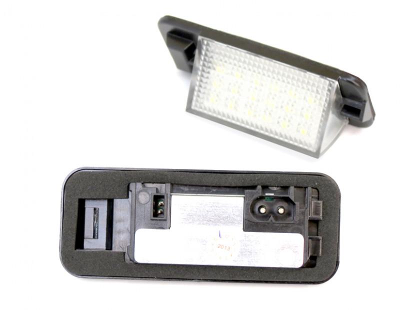 Комплект LED плафони за регистрационен номер за BMW серия 3 E36 седан/купе/комби/компакт 1990-1999, ляв и десен 14