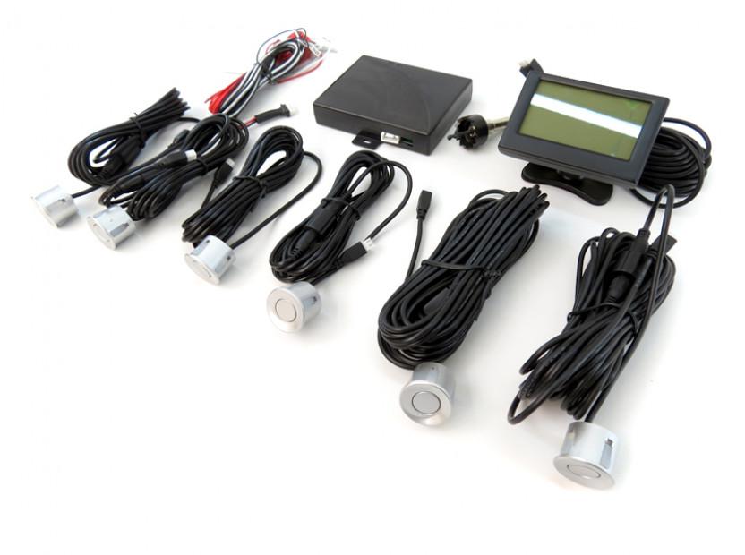 Парктроник система с 2.3'' LCD дисплей RD-058 с 6 сиви датчика 15