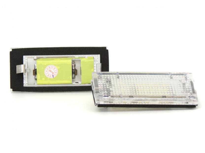 LED плафони за регистрационен номер за BMW серия 3 E46 седан/комби 1998-2005 5