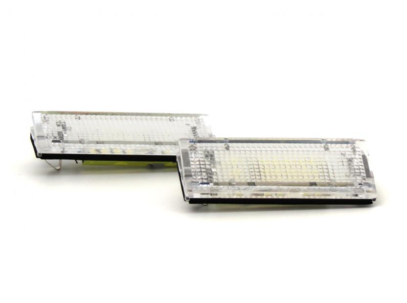 LED плафони за регистрационен номер за BMW серия 3 E46 седан/комби 1998-2005
