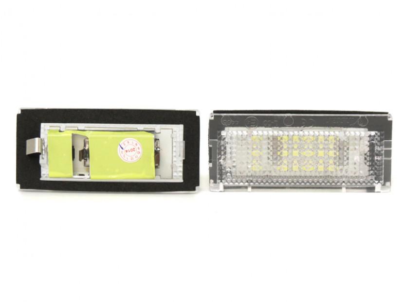 LED плафони за регистрационен номер за BMW серия 3 E46 седан/комби 1998-2005 4