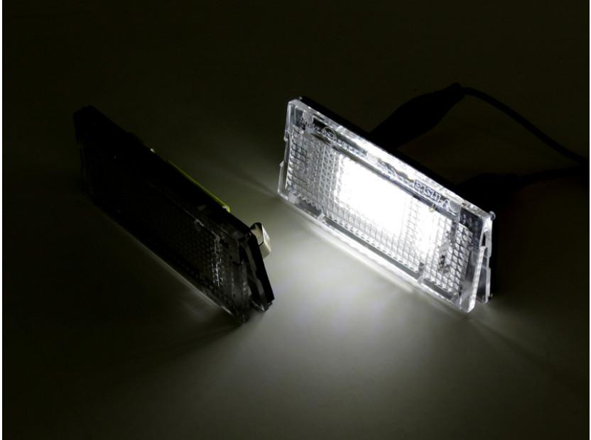 LED плафони за регистрационен номер за BMW серия 3 E46 седан/комби 1998-2005 6