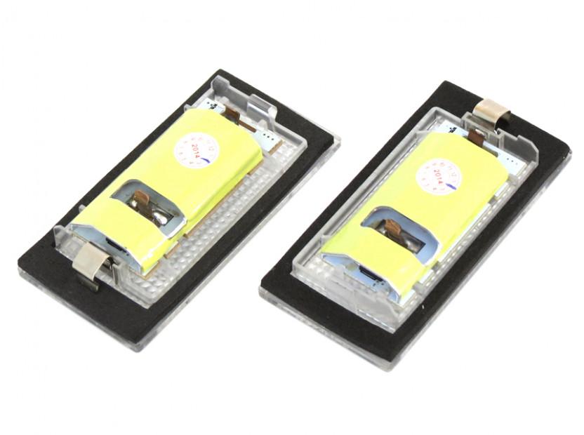 Комплект LED плафони за регистрационен номер за BMW серия 3 E46 купе 1998-2003, ляв и десен 4