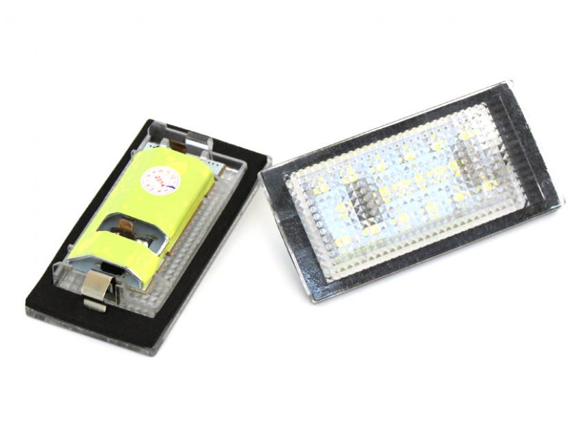 Комплект LED плафони за регистрационен номер за BMW серия 3 E46 купе 1998-2003, ляв и десен 3