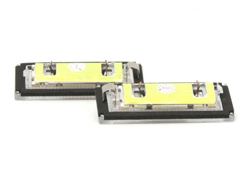 Комплект LED плафони за регистрационен номер за BMW серия 3 E46 купе/кабрио 2003-2006, ляв и десен 2