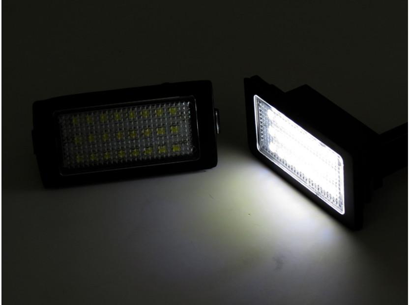 Комплект LED плафони за регистрационен номер за BMW серия 7 E38 1994-2001, ляв и десен 2
