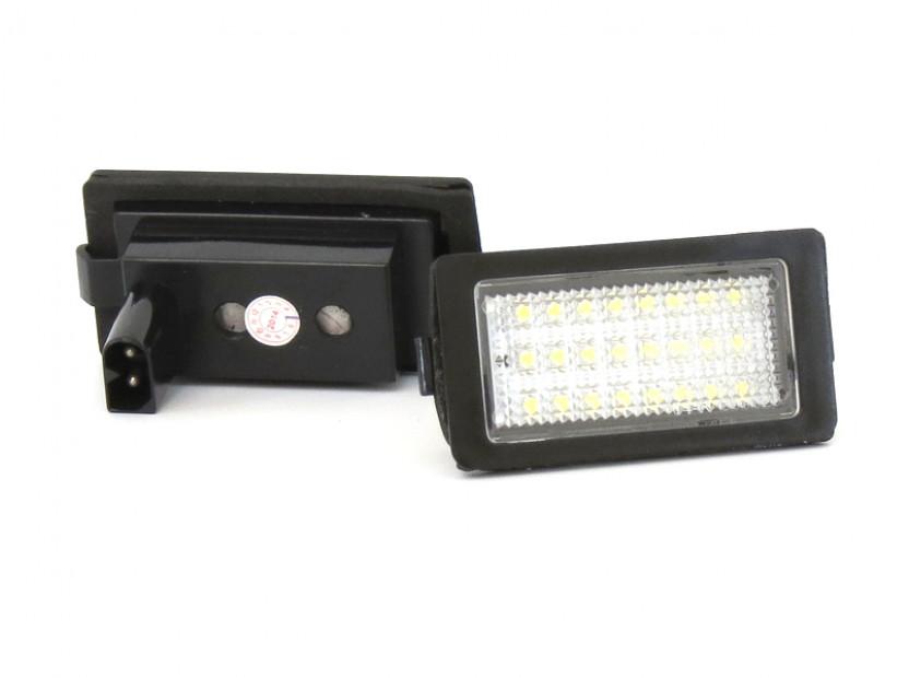 Комплект LED плафони за регистрационен номер за BMW серия 7 E38 1994-2001, ляв и десен 11