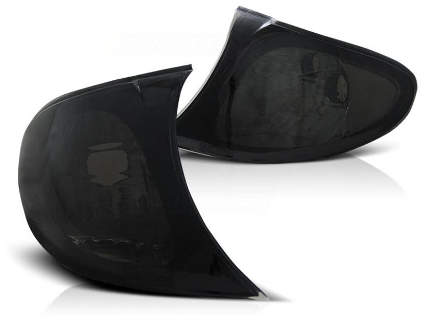 Комплект тунинг мигачи към фара за BMW серия 3 E46 седан/комби 2001-2005 с черна основа ляв + десен