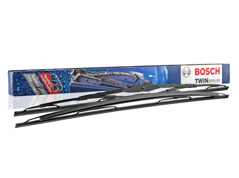 Комплект автомобилни чистачки BOSCH Twin 801 S, 600мм + 530мм, със спойлер 3