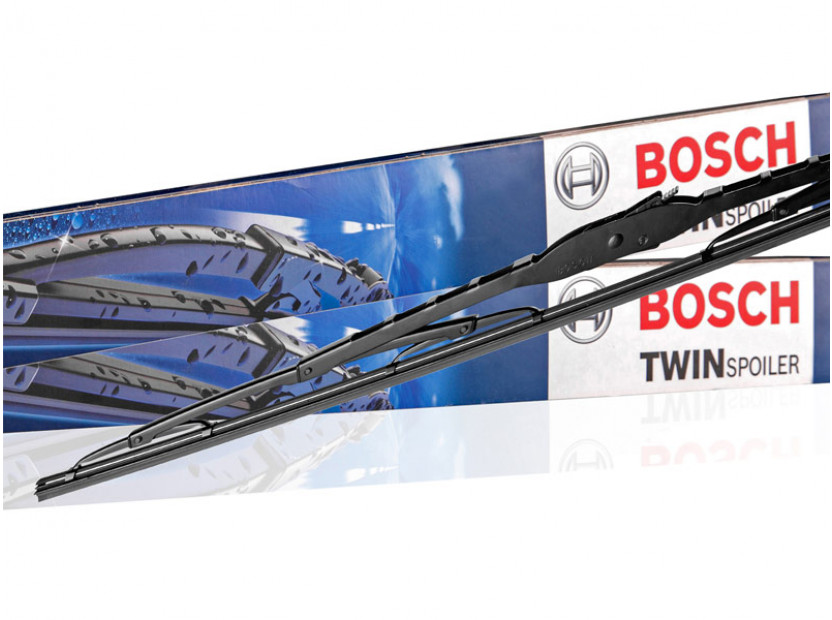 Комплект автомобилни чистачки BOSCH Twin 394 S, 580мм + 500мм, със спойлер 4