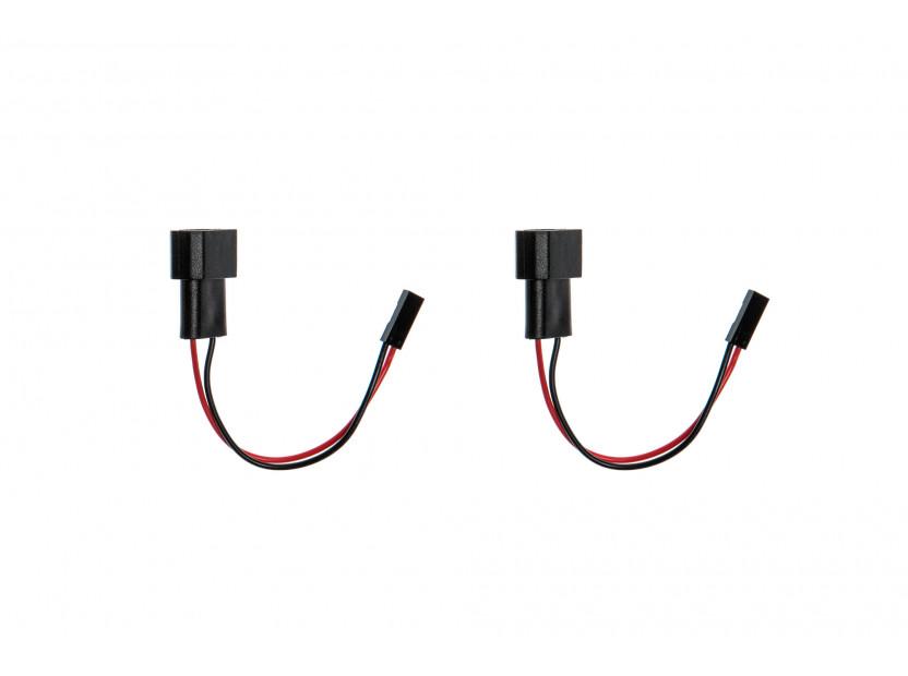 Комплект LED плафони High power за регистрационен номер за BMW E82,E90,E91,E92,E93,F30,F31,F34,E39,E60,E61,F10,F11,E84,F25,E70,F15,E71, ляв и десен 2