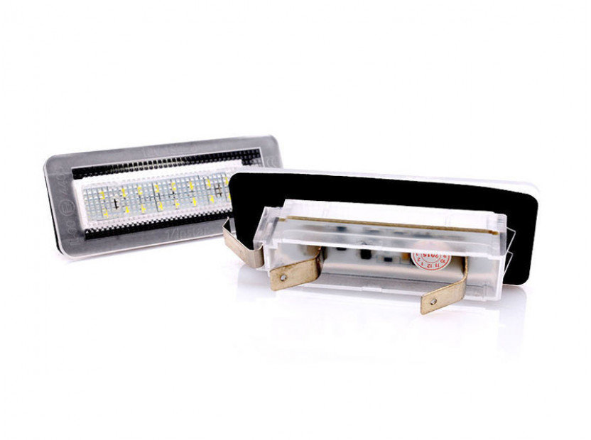 Комплект LED плафони за регистрационния номер за Smart ForTwo 1999-2007, ляв и десен 2