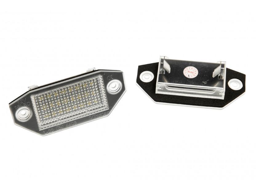 Комплект LED плафони за регистрационния номер за Ford Mondeo 2000-2007 4/5 врати, ляв и десен
