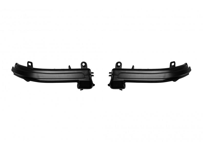 Тунинг LED мигачи за странични огледала на BMW серия 1 F20/F21 2011-2018, серия 2 F22/F23 след 2013 година, серия 3 F30/F31 2011-2018, серия 4 F32/F33/F36 2013-2018, X1 E84 2012-2014