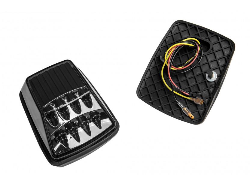 LED страничен мигачи за Mercedes G класа W463 1990-2012 година - черна основа 2