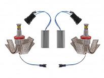 Бели LED лампи autopro за фабрични ангелски очи H8 40W