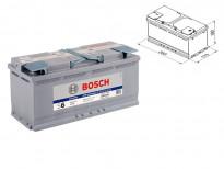 Акумулатор BOSCH AGM-technology S6 12V 105Ah 950 A с десен (+)