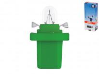 Крушка за табло Osram Original 12V, 2W, BX8.5D зелена, 1 брой