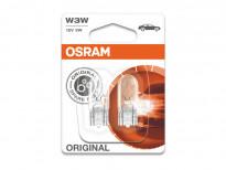 Комплект 2 броя крушки Osram W3W Original 12V, 3W, W2.1X9.5d