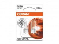 Комплект 2 броя халогенни крушки Osram W5W Original 12V, 5W, W2.1X9.5d