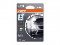 Комплект LED лампи Osram тип W5W сини