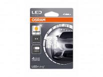 Комплект 2 броя LED лампи Osram тип WY5W жълти, 12V, 1W, W2.1x9.5d