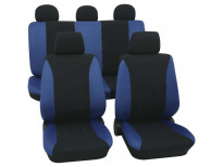 Тапицерия за седалки Petex Eco-Class модел Tahiti от 11 части, синя